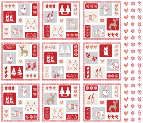 Jul jul fabric by ebygomm on Spoonflower - custom fabric
