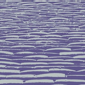 Grape Sea tile ikat