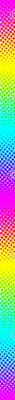 CMYK halftone gradient - rainbow