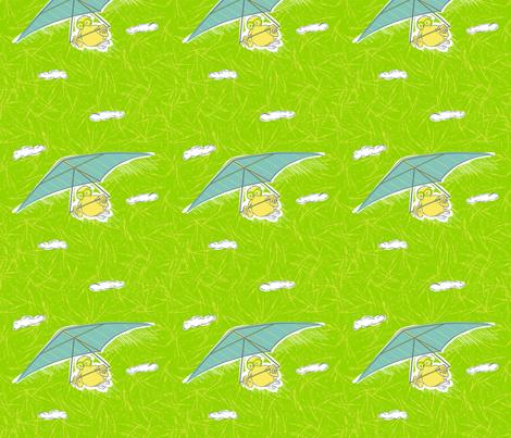 FlyBabyOwl fabric by edrouga on Spoonflower - custom fabric