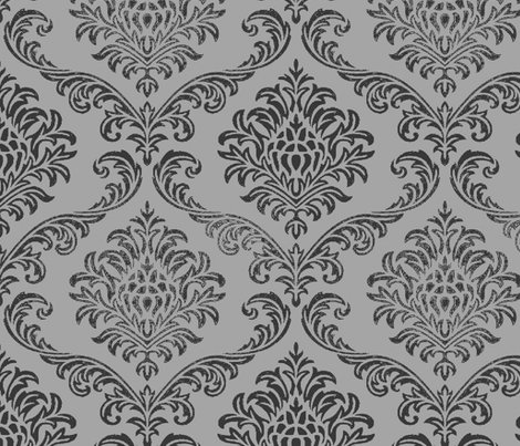 Rock Brocade Grey Wallpaper Paragonstudios Spoonflower