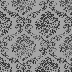 ROCK BROCADE GREY