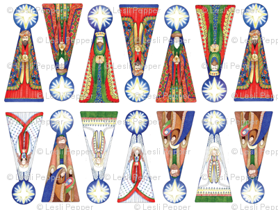 Wisemen Ornaments-primary