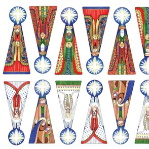 Wisemen Ornaments-primary