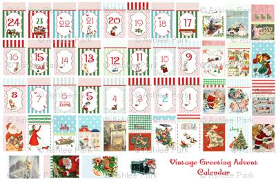 Drawstring Bag Advent Calendar