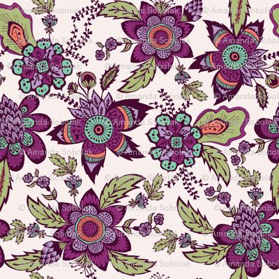 Floral Calico