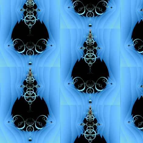 Fractal 21 fabric by anneostroff on Spoonflower - custom fabric
