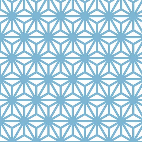 asanoha in angelite fabric by chantae on Spoonflower - custom fabric
