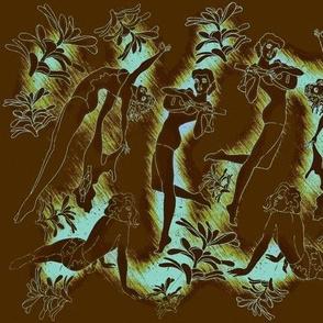 Hula Brownback-teal/bluegreen