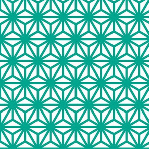 asanoha in emerald
