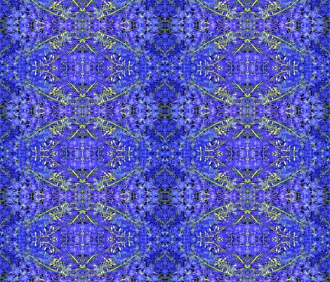 Blue Belles fabric by susaninparis on Spoonflower - custom fabric