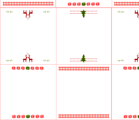 ChristmasNapkin fabric by ninjaauntsdesigns on Spoonflower - custom fabric