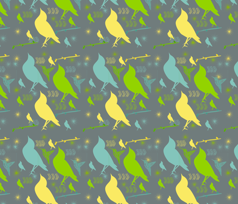 fly_away fabric by natalulu_too on Spoonflower - custom fabric