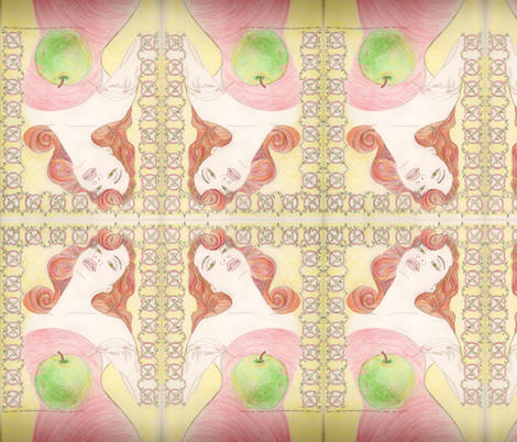 Apple Cider fabric by carvedknot on Spoonflower - custom fabric