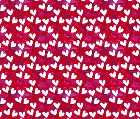 Textured Hearts fabric by empireruhl on Spoonflower - custom fabric