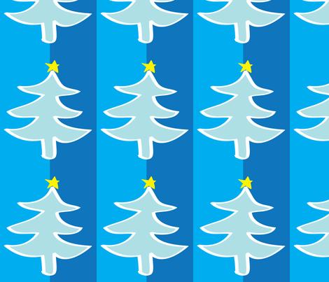 Christmas Tree fabric by lesrubadesigns on Spoonflower - custom fabric