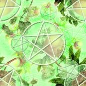 Mint Pomegranate Pentacles