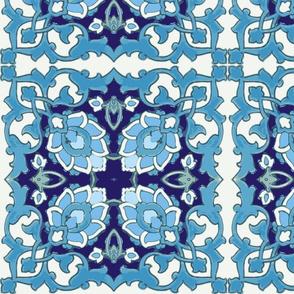 Turquoise Blue Serail