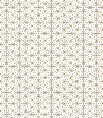 Gilded Asian Stars / Gold