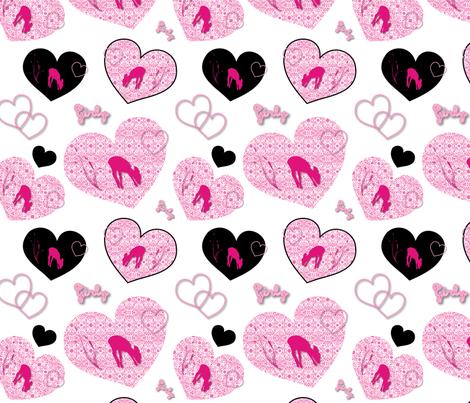 CherieCherie fabric by vannina on Spoonflower - custom fabric