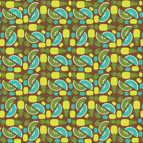 Tropicalia fabric by acbeilke on Spoonflower - custom fabric
