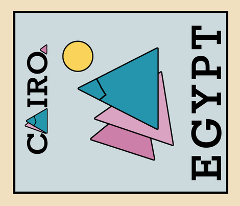 cairo_teatowel_1 fabric by cairocraft on Spoonflower - custom fabric