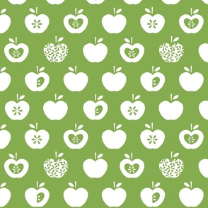 Apple-green