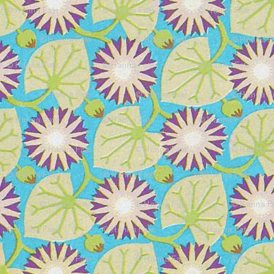 Art Nouveau Lily Pads