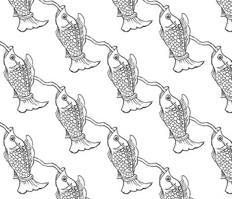 onefish fabric by dana_zurzolo on Spoonflower - custom fabric