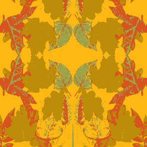 tom yellow orange leafs
