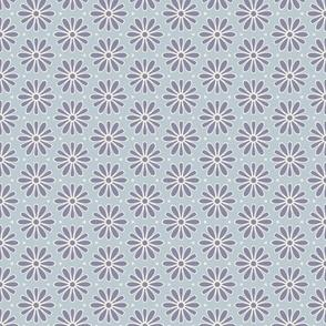Dark Blue Daisies