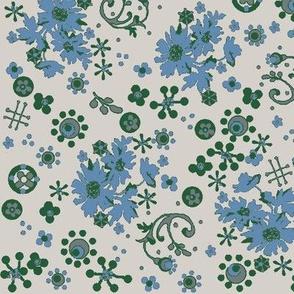 Ditsy Flora / Cornflower