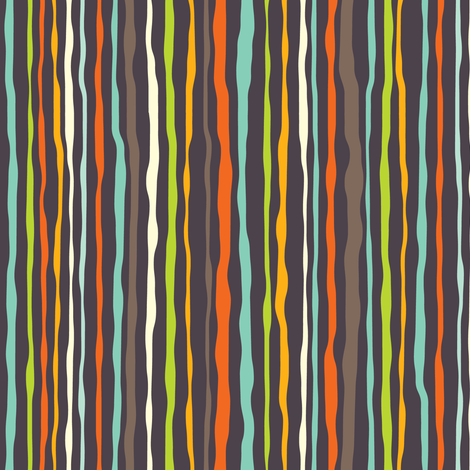 Hero-saurus stripe fabric by jennartdesigns on Spoonflower - custom fabric