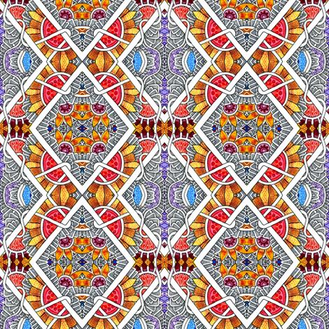 Hot Summer Suns fabric by edsel2084 on Spoonflower - custom fabric