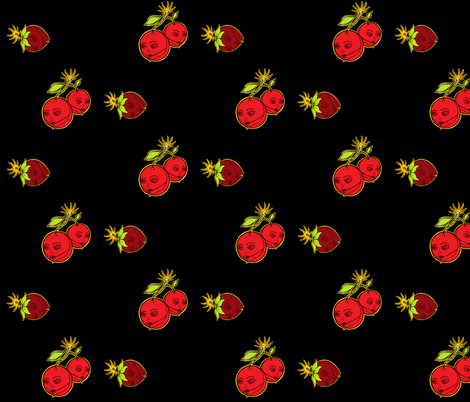 berrycherry bombed fabric by miss_jo_di_o on Spoonflower - custom fabric