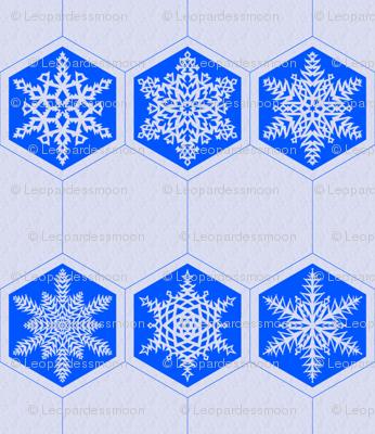 Snowflake Cocktail Napkin
