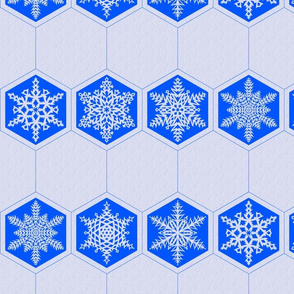 Snowflake Cocktail Napkin