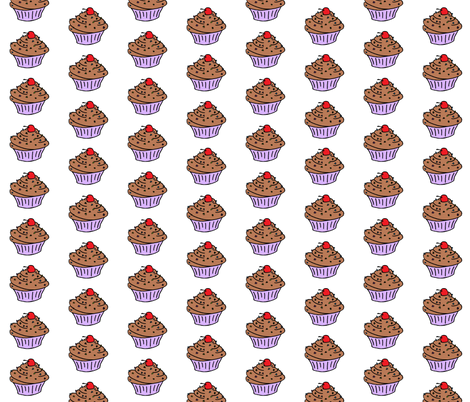 cupcake2 fabric by miss_jo_di_o on Spoonflower - custom fabric