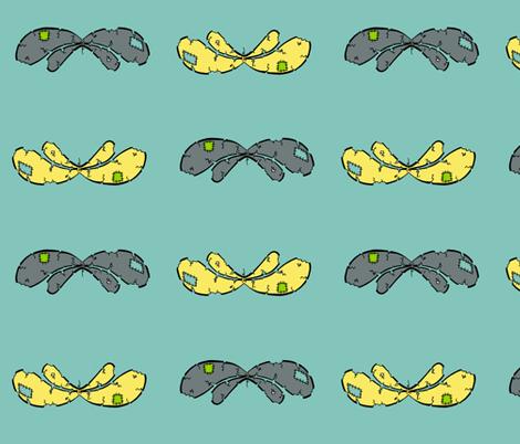 borrowd wings. 2 fabric by miss_jo_di_o on Spoonflower - custom fabric