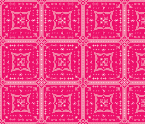 Pink Pop Squares fabric by robyriker on Spoonflower - custom fabric