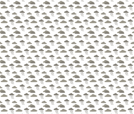 Cloud 9 Cloudburst fabric by designedtoat on Spoonflower - custom fabric