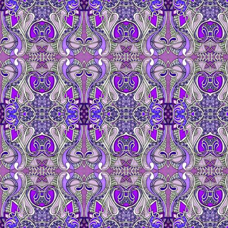 Purple Heart Tango fabric by edsel2084 on Spoonflower - custom fabric