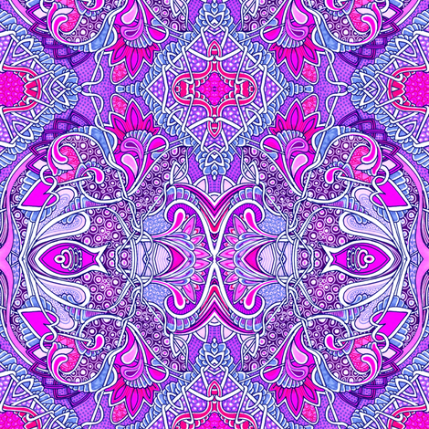 The Purple Scent of Grandma fabric by edsel2084 on Spoonflower - custom fabric