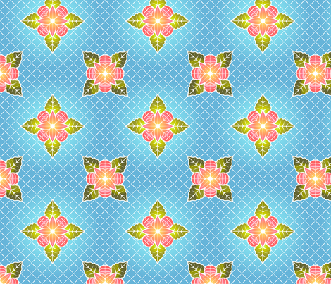 tropicalquilt fabric by glimmericks on Spoonflower - custom fabric