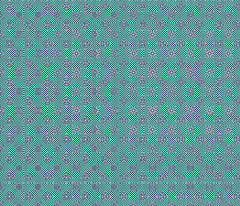 tropical_lace_mint fabric by glimmericks on Spoonflower - custom fabric