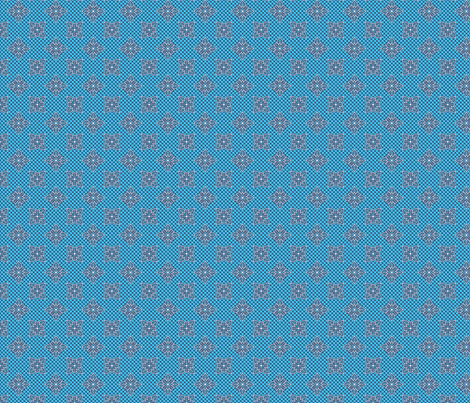 tropical_lace_blue fabric by glimmericks on Spoonflower - custom fabric