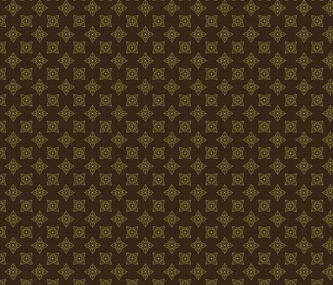 tropical_lace_cafe_mocha fabric by glimmericks on Spoonflower - custom fabric