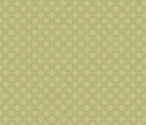 tropical_lace_pineapple_sage fabric by glimmericks on Spoonflower - custom fabric