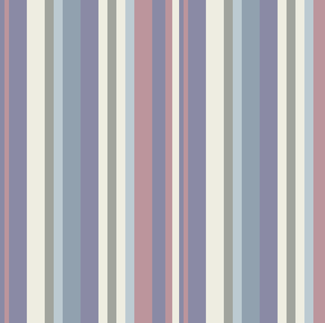 Toasty November Cool Stripes fabric by jumeaux on Spoonflower - custom fabric