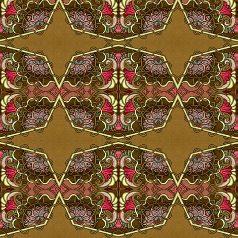 Thinkin' Lincoln fabric by edsel2084 on Spoonflower - custom fabric
